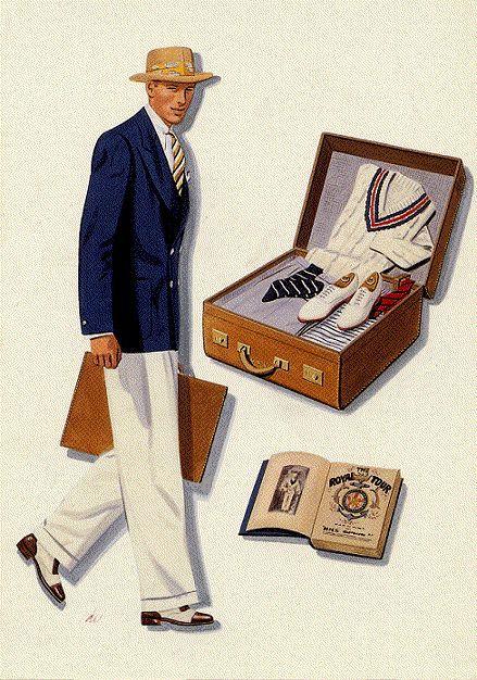 Stil der 30er Jahre für Männer Herren Anzug | Mens fashion