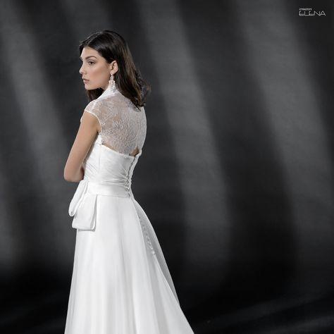 Vestiti Da Sposa Negozi.Abito Da Sposa Della Collezione Creazioni Elena 2019 In Vendita