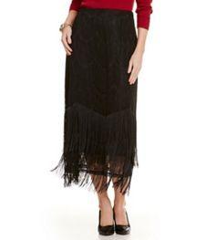 cf41db03d Reba Lace Fringe Skirt Reba Clothing, Fringe Skirt, Lace Skirt, Dillards,  Tie