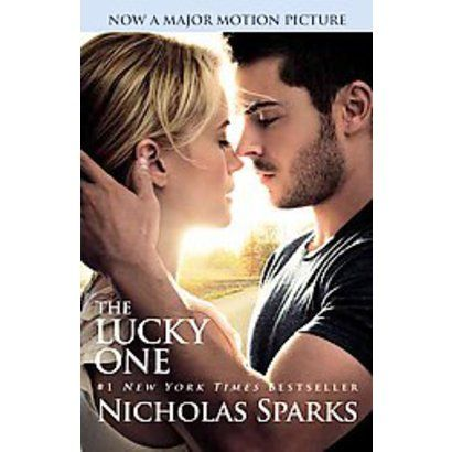 I can't wait to see this movie, The Lucky One, which was also an Nicholas Sparks book.