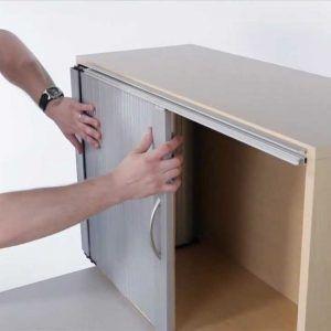 Diy Kitchen Observe Door Cupboard With Images Sliding Cabinet