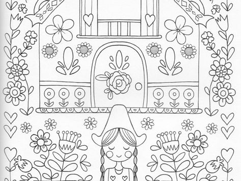 Images Of Mary Engelbreit Google Search Mary Engelbreit Christmas Coloring Pages Cat Coloring Book