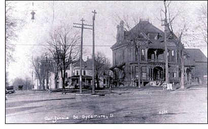History Of Jane Fargo Hotel Sycamore Illinois Local Finds Pinterest
