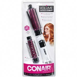 Conair 2 In 1 Hot Air Brush Great For Styling Short Hair I Need This Greatestihavefound Conair Curling Brush Hair Dryer Brush