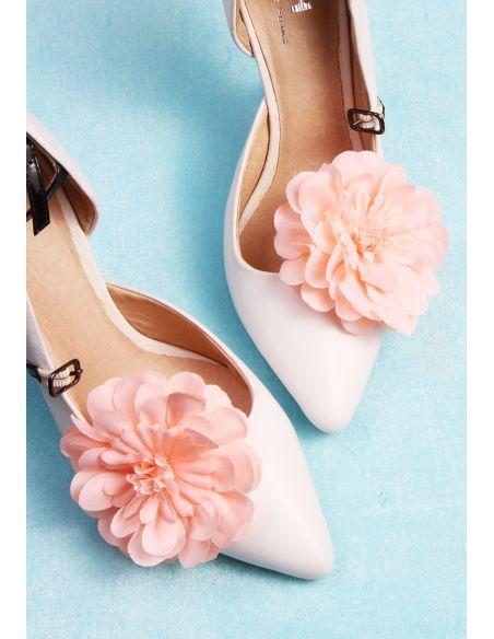 De Boda Accesorios Rosa Zapatos Broches Para Melocotón Morgan lJK1cF