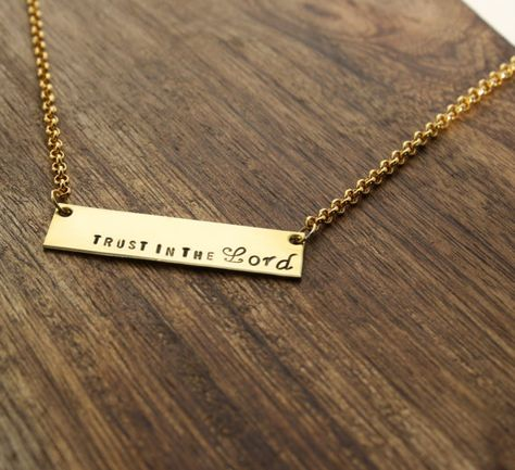 Bob Siemon Inspirational Engraved Brass-Plated Cuff Bracelet Trust Your Journey
