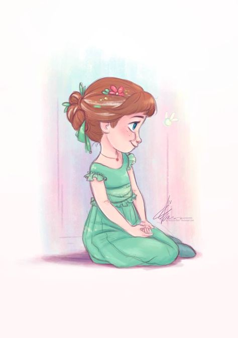 Lil Anna of Arendelle [Disney Frozen] by Teescha-Rinn on DeviantArt