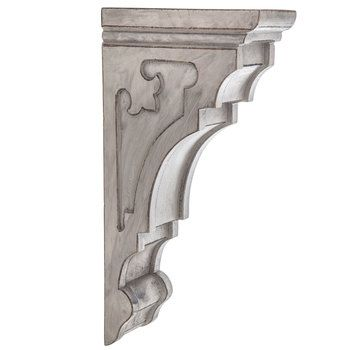 Gray Wood Corbel From Hobby Lobby 60 Ea Wood Corbels Grey Wood Corbels