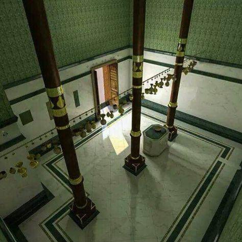 داخل الكعبة المشرفة Mekke Musluman Bina