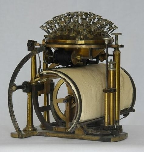 The Writing Ball, c.1870