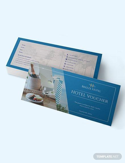 Hotel Voucher Voucher Design Gift Voucher Design Voucher