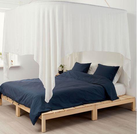 Letto Ikea A Baldacchino.Camera Da Letto Shabby Chic Ikea Tante Idee Per Arredi Romantici
