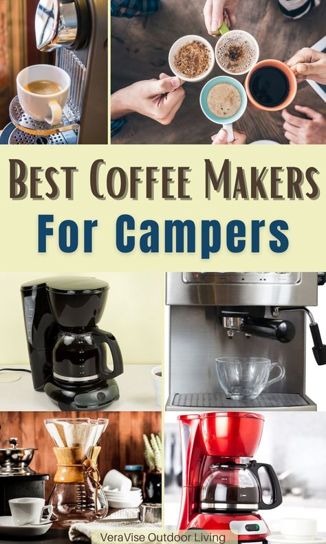 Are you one of those campers who cannot last a day without getting a sip of coffee? If your answer is yes then you need a convenient coffee maker that you can bring along the road. There are plenty of coffee makers that are fit no matter what camping style you have. We're sharing with you the best coffee makers for campers that we believe are perfect for the outdoor lifestyle.
