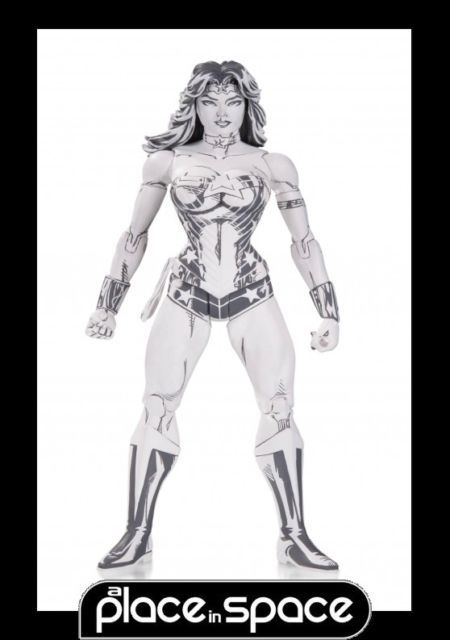 DC Comics Wonder Woman Blueline Edition Action Figure By Jim Lee