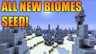 ☆Minecraft Xbox 360/PS3: TU31 Seed All New Biomes One Seed