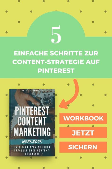 Strategie-Workbook Pinterest-Marketing