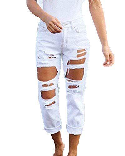 Women/'s Jeans Gamba Dritta Pantaloni Elastici Mid Rise Pantaloni Beige UK 8-16