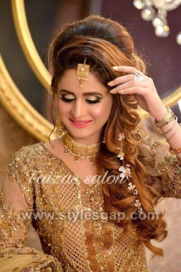 Latest Asian Party Wedding Hairstyles 2020 Trends Pakistani Wedding Hairstyles Indian Wedding Hairstyles Hairstyles For Gowns