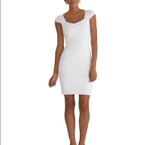 Whbm White Instantly Slimming Dress This Is Just As