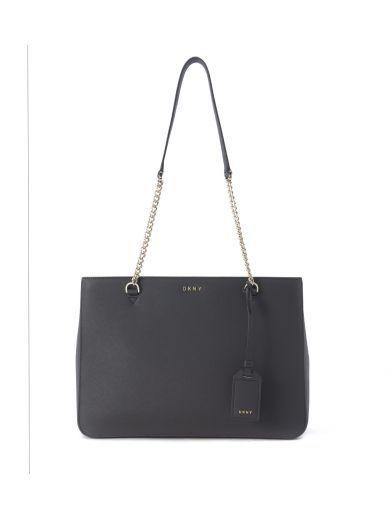 DKNY Borsa Shopper Dkny In Pelle Grigia. #dkny #bags # #
