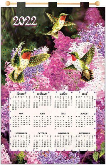 Maxim 2022 Calendar.Hummingbirds 2022 Felt Calendar In 2021 Calendar Kit Calendar Felt