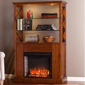 Sea Dog Electric Fireplace Curio Cabinet | Electric fireplaces and ...