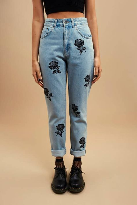 We love denim, but we love a cute embroidered jeans outfit more than anything. It's a unique way of wearing a common item. The great thing about embroidered jeans is .