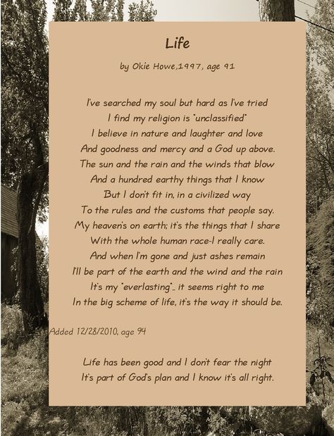 poems   ... sisters…take my hand   96 Years Old and Still Writing: Okie's Poems