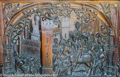 La Sillería Baja Del Coro De La Catedral De Toledo Tableros De Los Respaldos Y Iv Catedral Toledo Coro