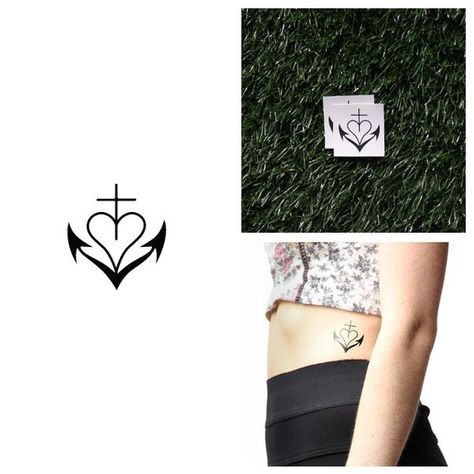 Afloat - Temporary Tattoo (Set of 2)