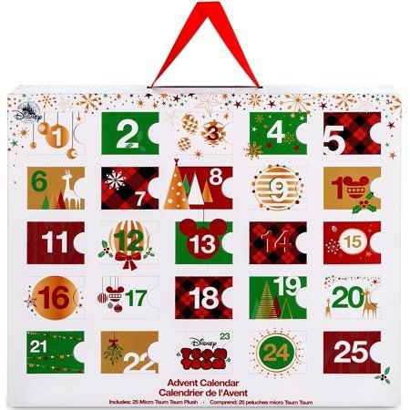 Toys Christmas Advent Calendar Diy Christmas Advent Calendar