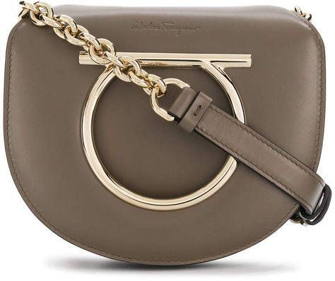114cc1313d3a Salvatore Ferragamo Gancio saddle bag