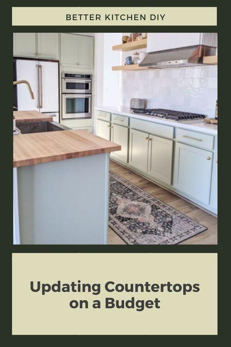 Updating Your Countertops