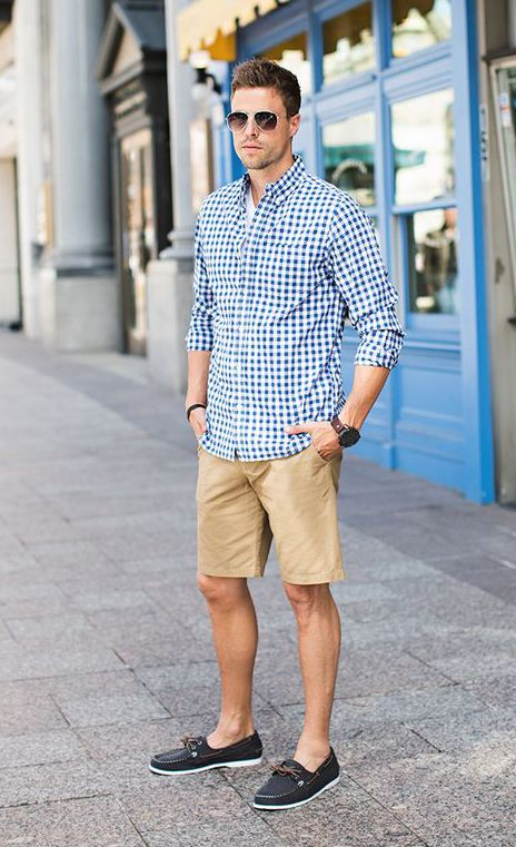Outfit casual hombre verano