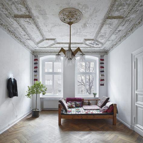 altbau stuck - Google-Suche Interieur Pinterest Altbauten - designermobel einrichtung hotel venedig