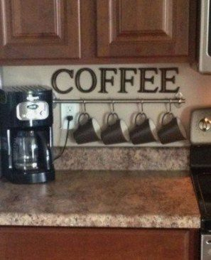 26 Trendy Apartment Kitchen Decorating Themes Coffee Stations
