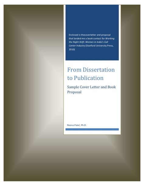 from-dissertation-to-publication by Reena Patel via Slideshare