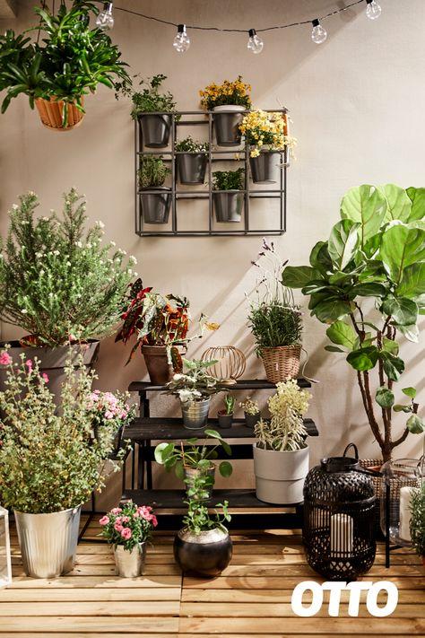 Balkon mit Pflanzen gestalten