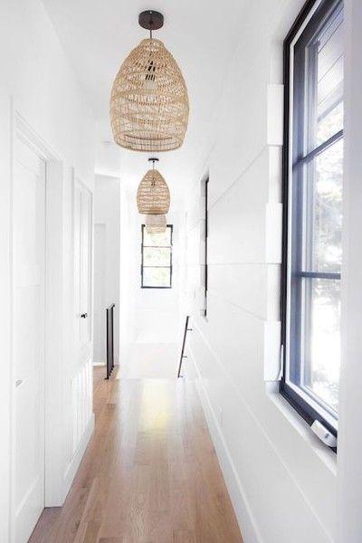 lined with lights hallway lighting