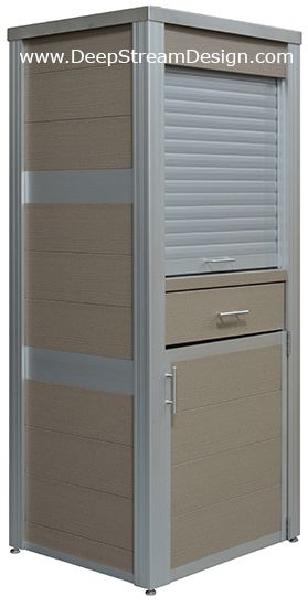 Weatherproof Pos Cabinate Polywood Outdoor Furniture Outdoor Storage Cabinet Cabinets For Sale