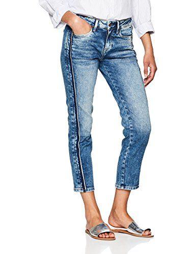 3271a30040cf Pepe Jeans Jolie, Vaqueros Straight para Mujer   Vaqueros mujer ...