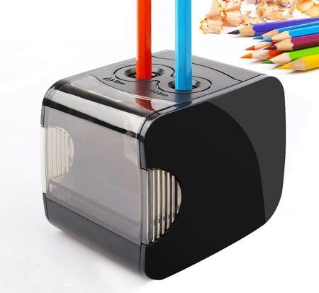 Battery Operated Heavy Duty Colored Pencil Sharpener Coloring Books Coloring Book Art Coloring Supplies