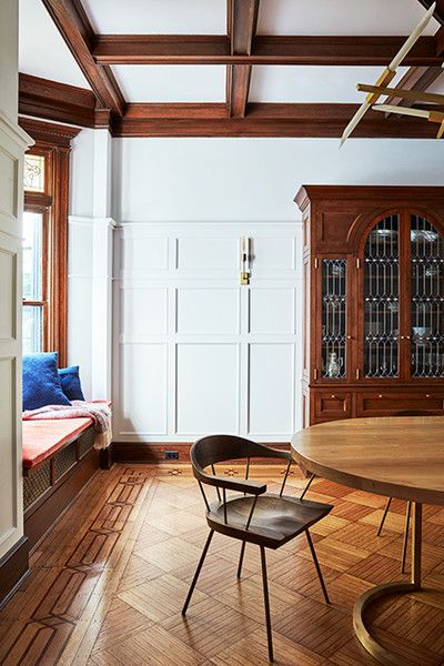 Stained Glass Details - A 1900s Park Slope Limestone That Perfectly Blends Traditional And Modern  - Photos