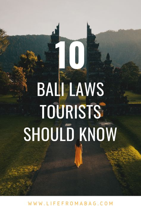 Important Bali local traditions, customs and laws to know. #Bali #BaliTravel #Indonesia