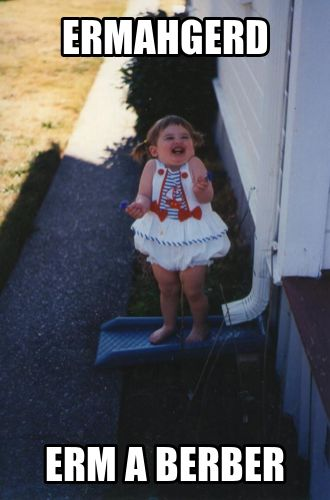 Funny pictures about Ermahgerd Baby. Oh, and cool pics about Ermahgerd Baby. Also, Ermahgerd Baby photos.