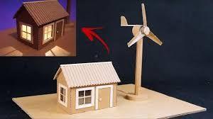 صنع بيت من كرتون بحث Google Electricity Projects For Kids Wind Generator Diy Science