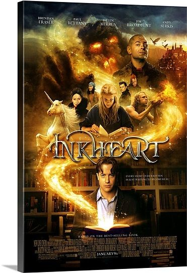 Inkheart (2008) Solid-Faced Canvas Print