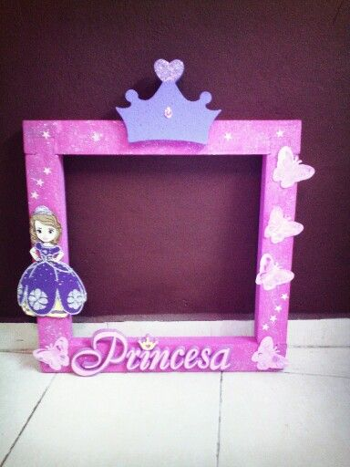 Dorable Marcos De Cuadros Princesa Regalo - Ideas para Decorar con ...