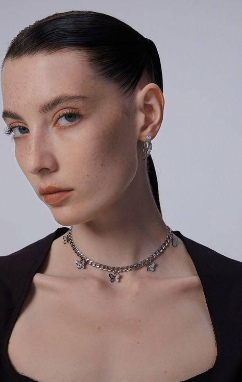 Butterfly Necklace Choker