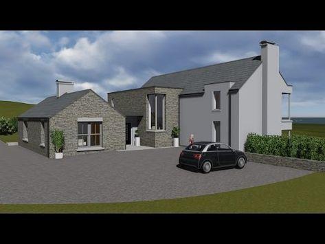 Irish House Plans Type Mod084 Exterior Youtube Irish Houses Irish House Plans House Designs Ireland
